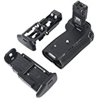 DSTE for Pro BG-E14 Vertical Battery Grip Compatible Canon Eos 70D 80D 90D SLR Digital Camera as LP-E6 LP-E6N