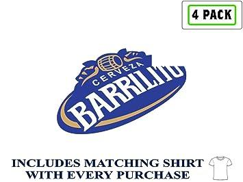 Barrilito Beer Logo Alcohol 4 Vinyl Stickers Decal Bumper
