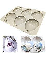 Moldes de silicona para hacer joyas artesanas de resina, con orificio Drop