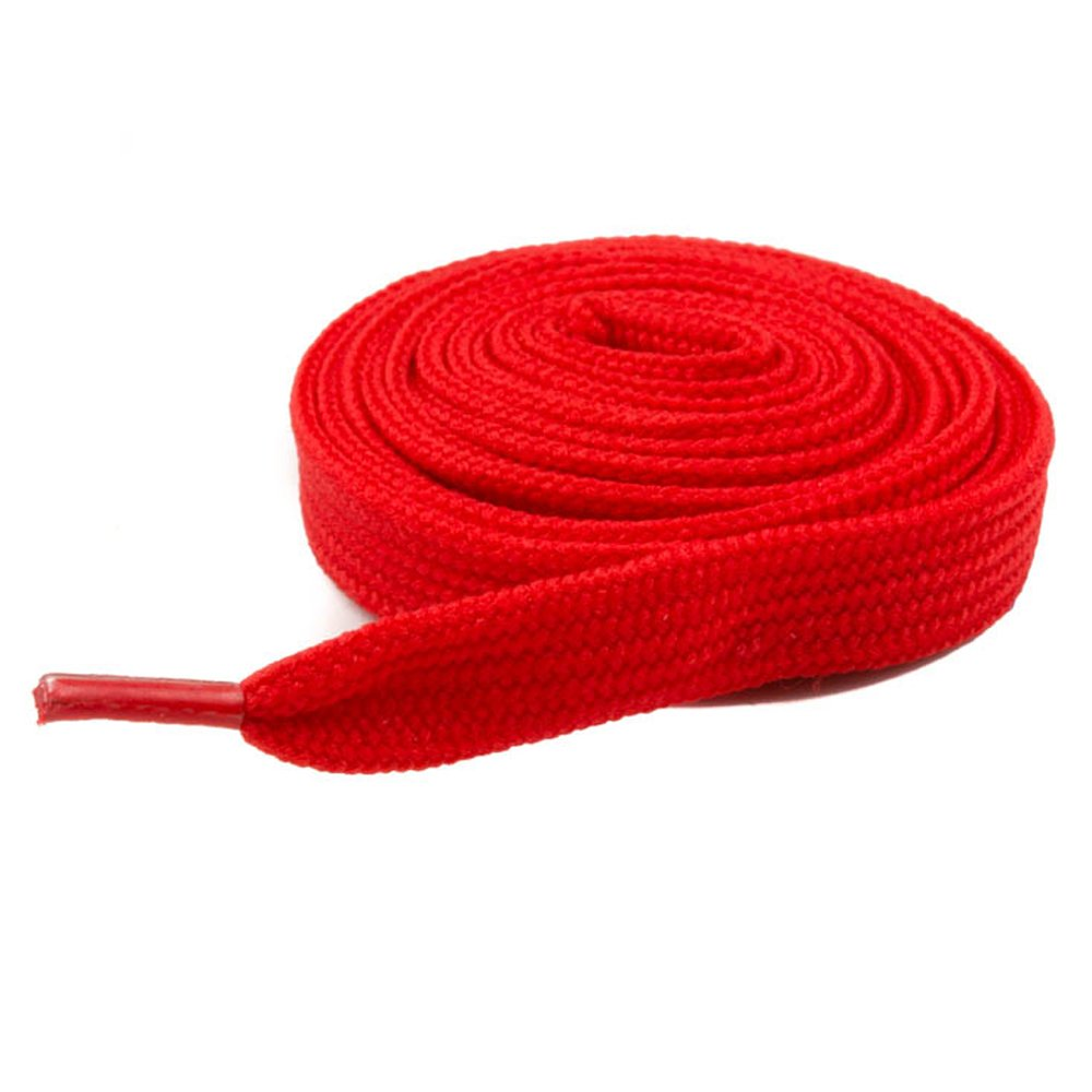 e00a8cef488ea Mytoptrendz® Plain Red Flat Shoe Laces For Trainers, Boots,Converse Sport's  Shoe Shoelaces