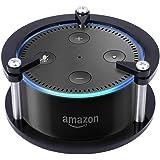 nicecool Acryl Guard Halterung Wandhalterung Lautsprecher Ständer für Amazon Echo Dot und, völlig neue Echo Dot (zweiter Generation)-USB Kabel und Wand-Ladegerät