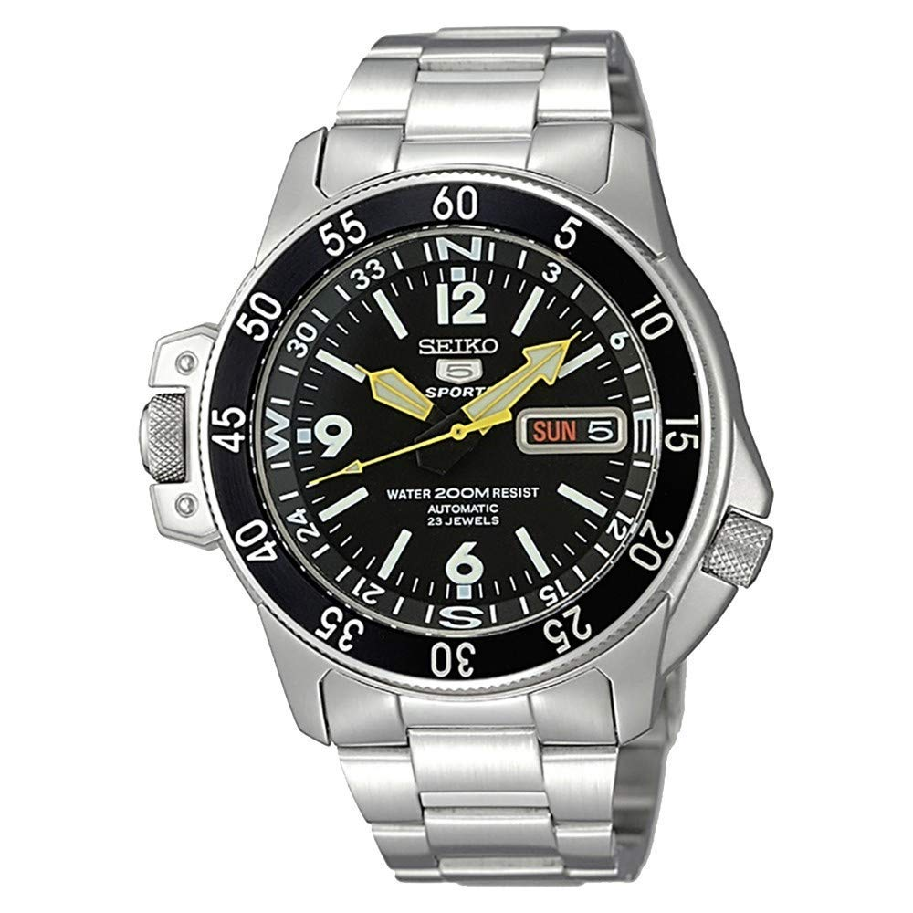 Steel Watch, Automatic Watch, Water-resistant Watch, Seiko 5 Watch, Silver Watch
