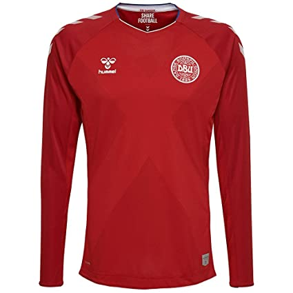 online retailer 63546 9fe2c Amazon.com: Hummel Sport Hummel Danish National Soccer Team ...