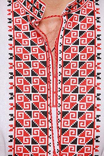 Brodée Chemisier ukrainaskaya Vyshyvanka chemise Brodé Ukrainienne Broderie qn4Fxpwn