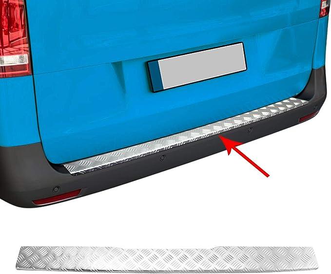 Omac Ladekantenschutz Für Vito W447 2014 2020 Stoßstangeschutz Aus Aluminium Auto