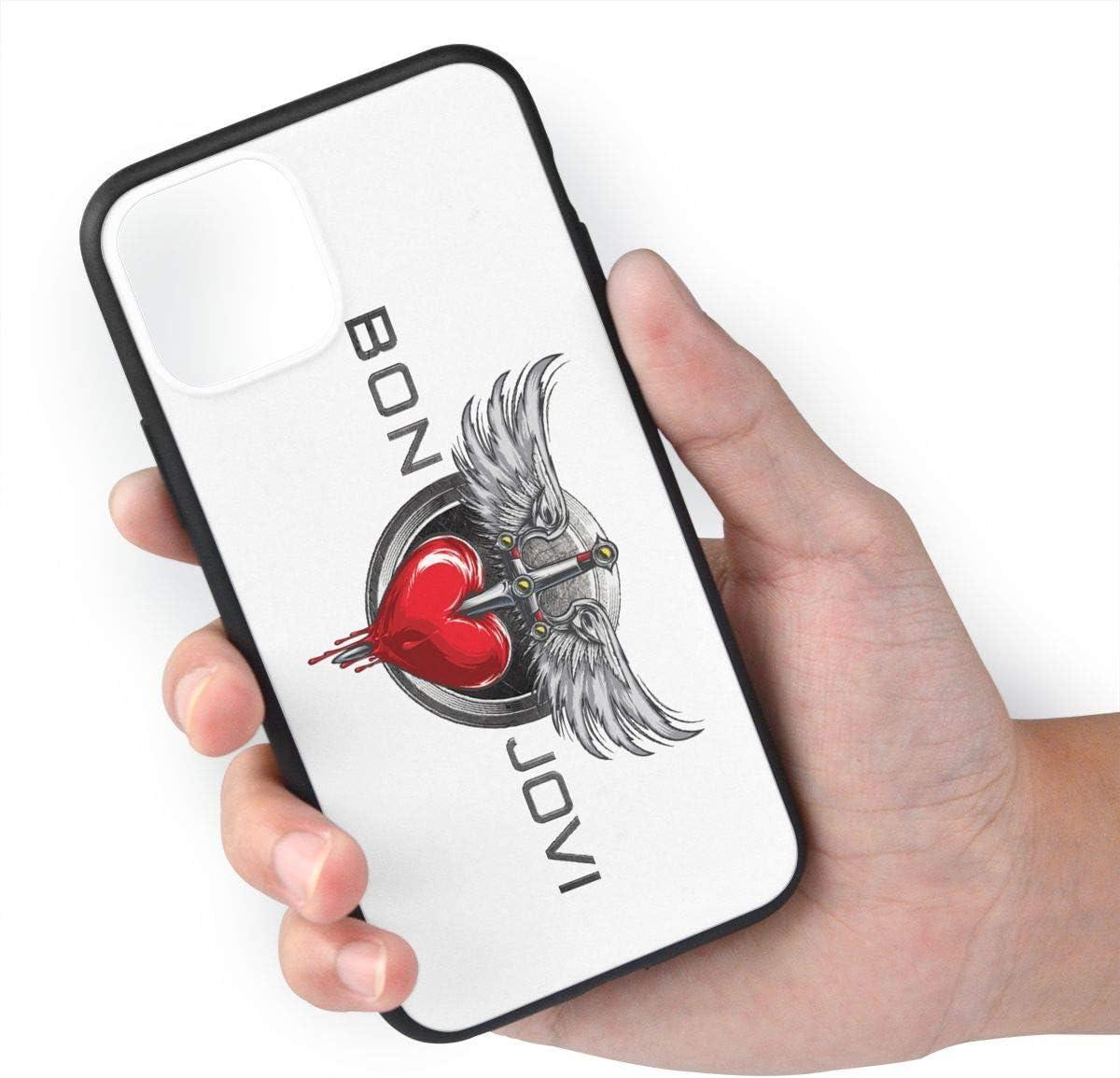 MaMing Bon Jovi Design Fashion iPhone 11 case TPU 11 pro max Cases Gift iPhone 11