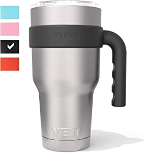 YUMI Handle is a Perfect Fit for All 30 Ounce Yeti and Yeti Rambler Type Tumbler Mugs, Black