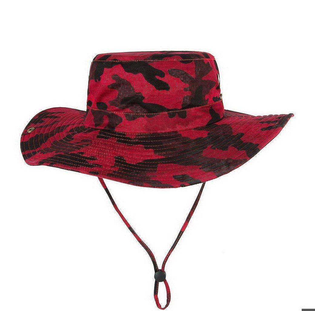 Evedaily Cappello jungle pesca , Boonie Hat Militare di caccia all'aperto costruzioni safari escursioni