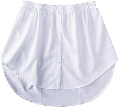 Vtops Extensores de camisa de falda ajustable para mujer ...