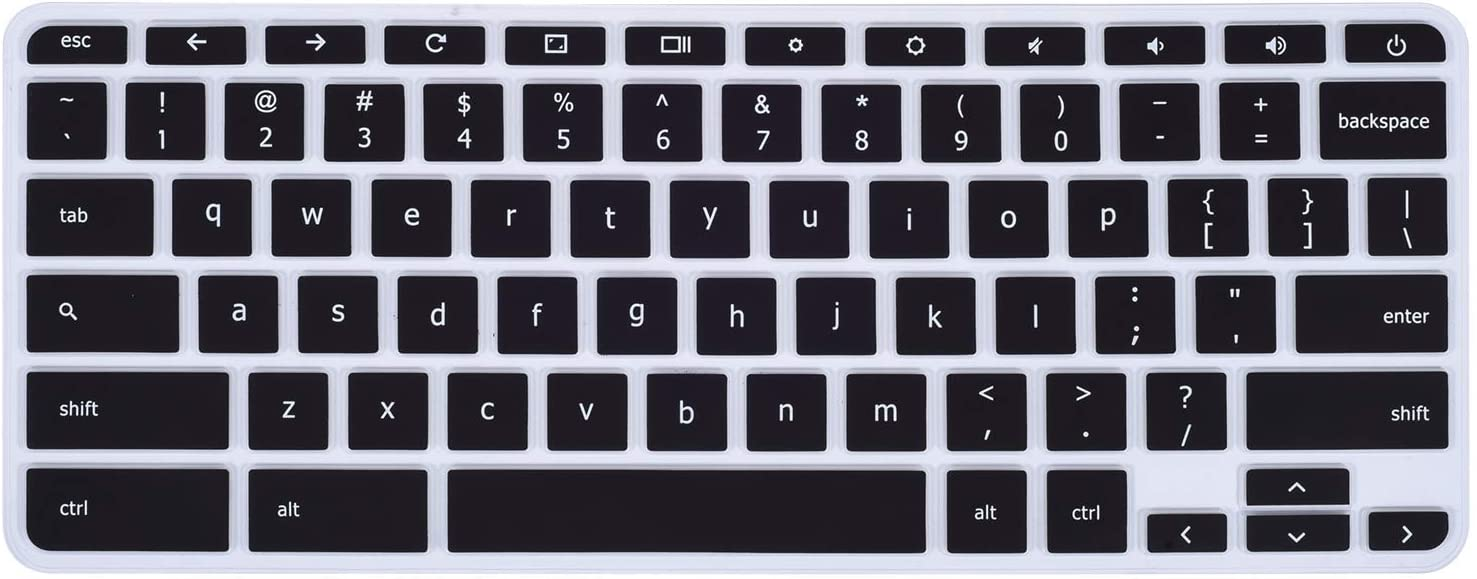 "Keyboard Cover Case Compatible with 11.6"" Lenovo Chromebook Flex 11 C330 / 11.6"" Lenovo Chromebook N20 N21 N22 N23/11.6"" Lenovo Chromebook 100e 300e 500e /14"" Chromebook N42 N42-20 (Black)"