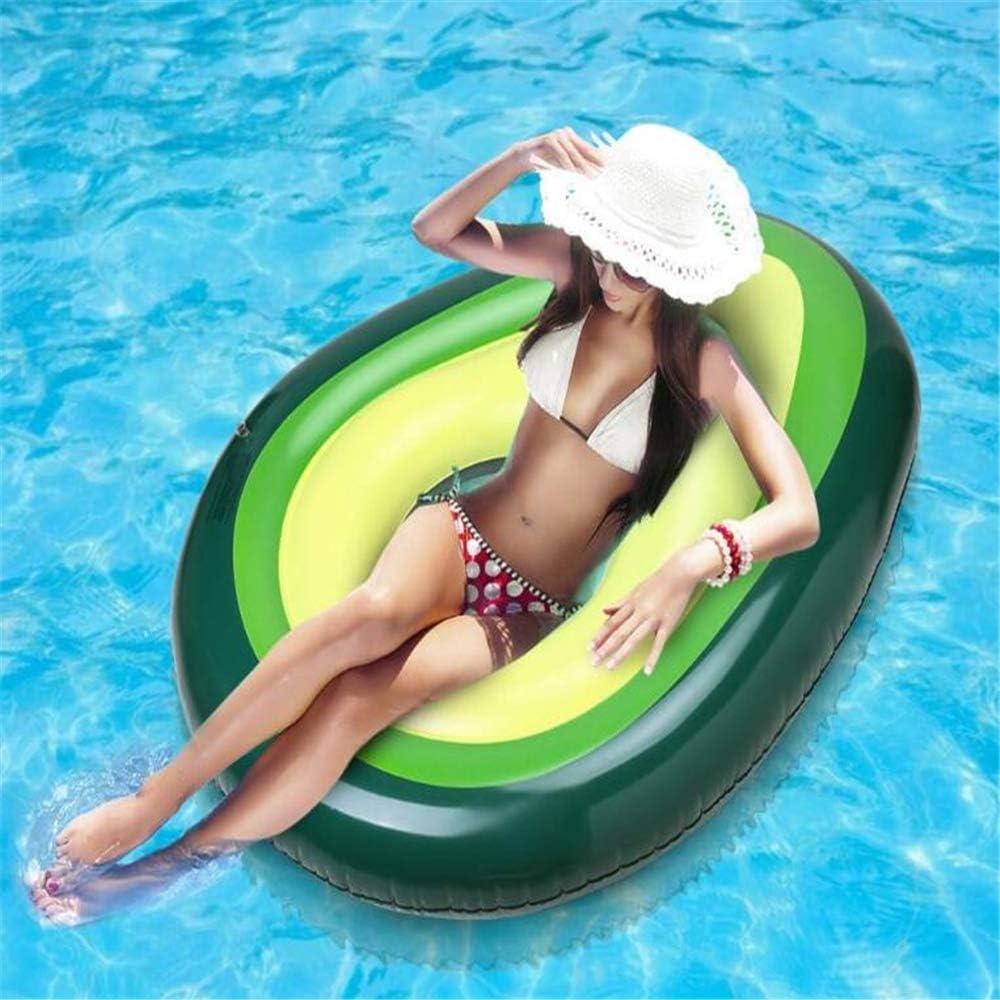 Flotador inflable gigante de la piscina del aguacate, asiento de ...