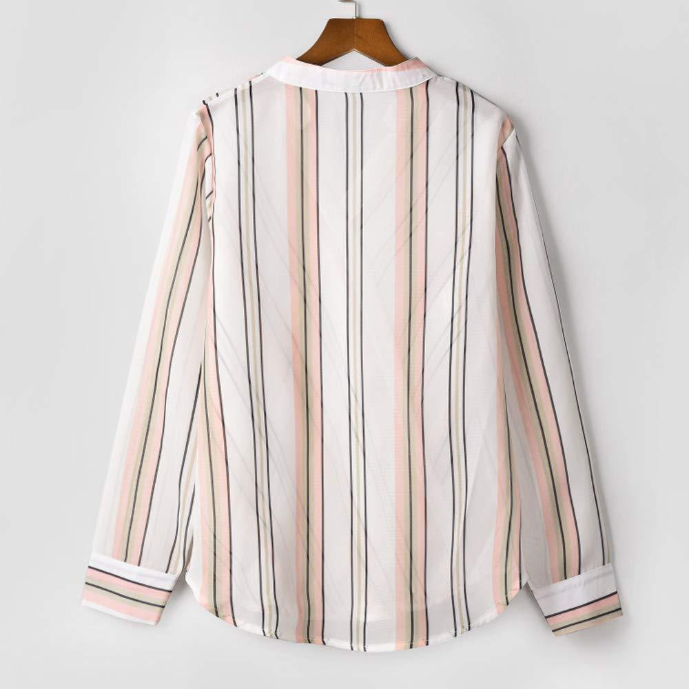 Blusas con Cuello en V de Mujer,SunGren Camisetas de Manga Larga con Capucha Sudaderas con Capucha Tops Sueltos