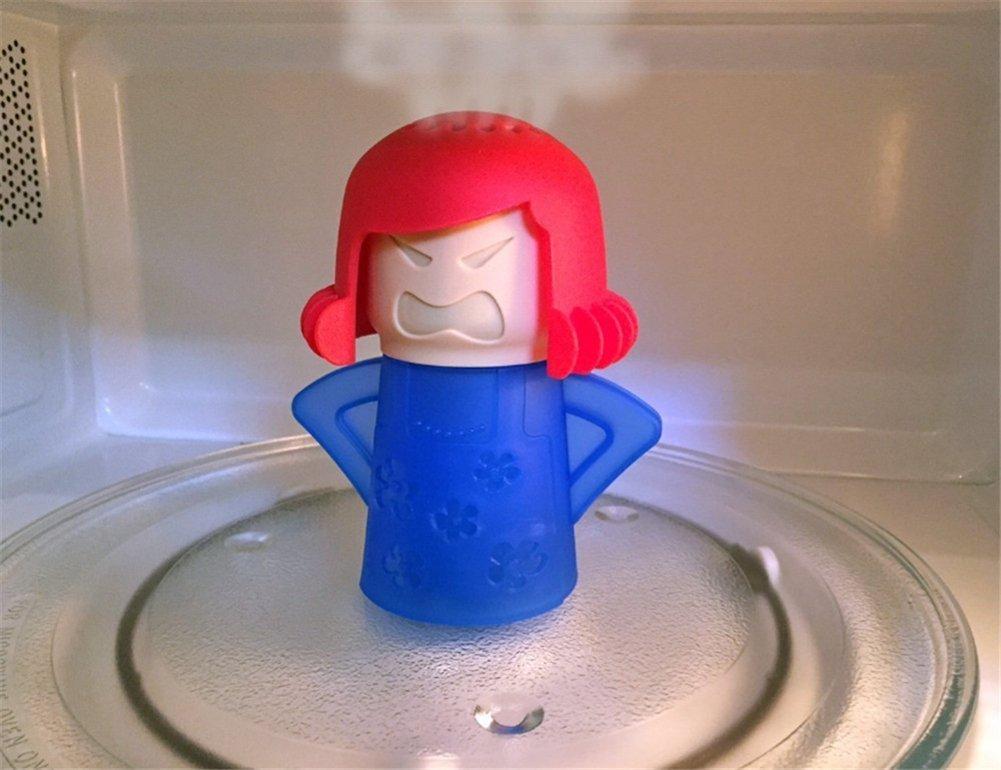 Williams Angry Mama microondas limpiador - fácil de limpiar ...