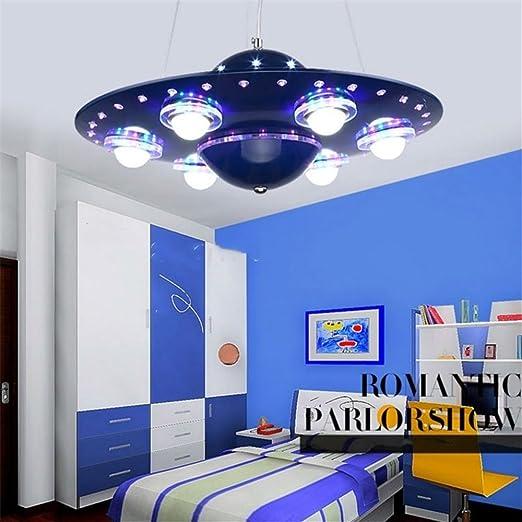 childrens room lighting. GaoHX Light Colorful Remote Control UFO Spaceship Chandelier Children\u0027s Room Pendant Lamp Bedroom Lights Creative Cartoon Childrens Lighting G