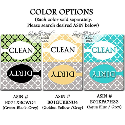 Clean Dirty Dishwasher Magnet Sign Best For Dishes Review