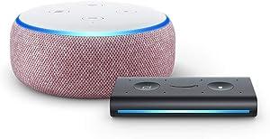 Echo Dot (3rd Gen) Plum with Echo Auto
