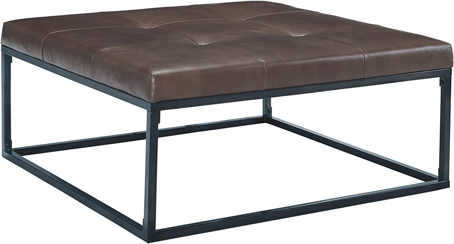 Signature Design by Ashley Boyden Oversized Accent Ottoman, Brown