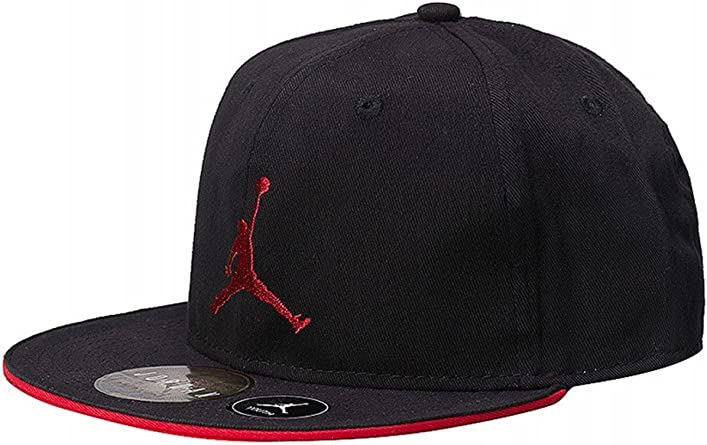 Nike - Gorra para niño Air Jordan Youth Jumpman - Negra 9A1417–297 ...