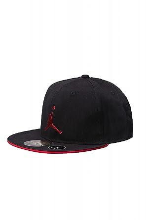 e18844ee4 Nike - Gorra para niño Air Jordan Youth Jumpman - Negra 9A1417–297   Amazon.es  Ropa y accesorios