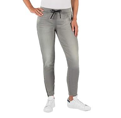 51c2aaff Women's (Juniors') Low Rise Moto Jogger Denizen Jeans - Gray - (0 ...