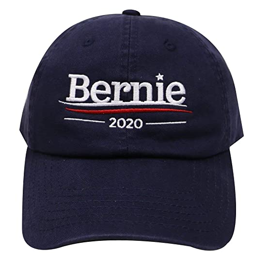 14b5e9e1c82 Image Unavailable. Image not available for. Color  Adjustable Cap for Men  and Women Dad Caps Bernie Sanders 2020 Cotton Baseball Cap Sun Sport