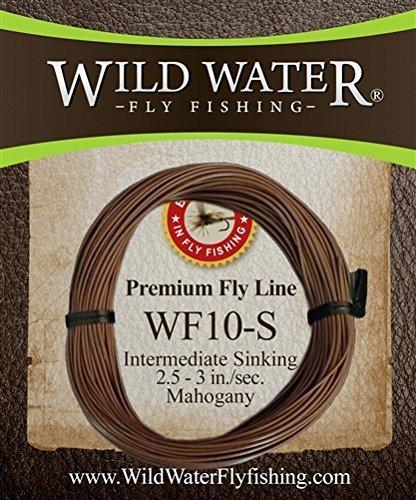 Wild Wasser Fliegen Angeln Gewicht Vorwärts 10 Gewicht Mittelschneider sinkend Fly Line von Wild Water Fly Angeln