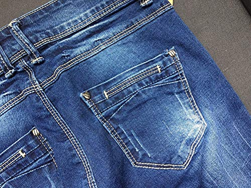 Stlie Da Unique Pan Colour Donna Fit Bobo Blue 88 Denim Slim Jeans Stretch 8qxfgxFZ