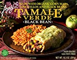 Black Bean Tamale Verde by Amy's Kitchen, 10.3 oz Boxes (12)
