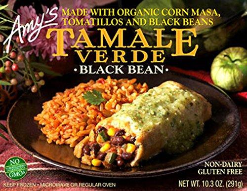 Black Bean Tamale Verde by Amy's Kitchen, 10.3 oz Boxes (12)