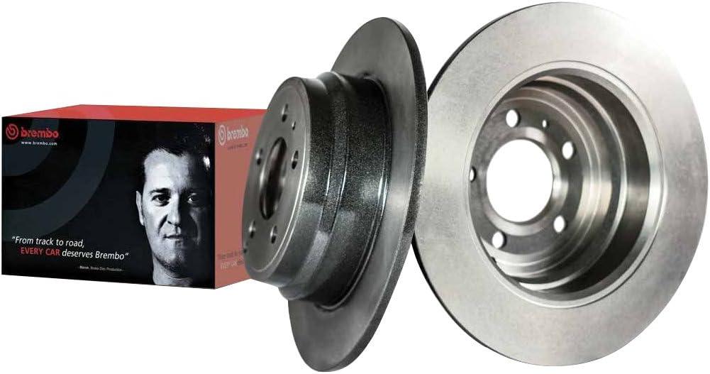 Brembo 08.5086.14 Set di 2 dischi Disco Freno Anteriore