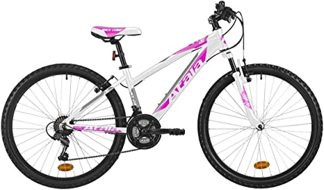 Atala Mountain Bike de Mujer Race Comp 26, Color Blanco/Fucsia ...