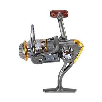 VGEBY Carrete de Pesca Spinning de Metal Rueda de Pesca de Carpa ...
