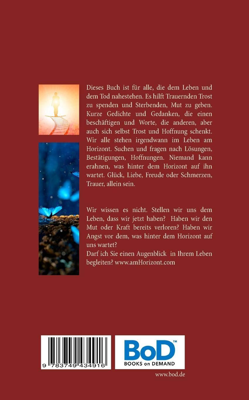 Am Horizont Gedichte Und Gedanken German Edition Andreas