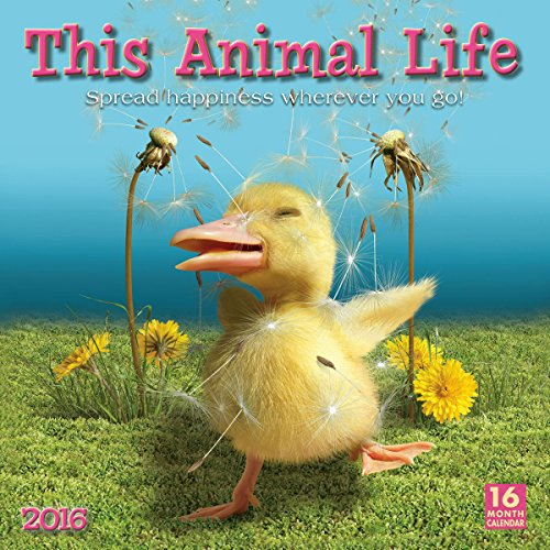 This Animal Life 2016 Wall Calendar