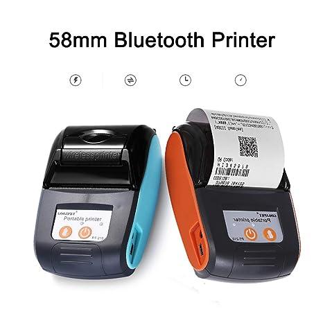 CICIN Mini Impresora de Etiquetas portátil de 58 mm ...