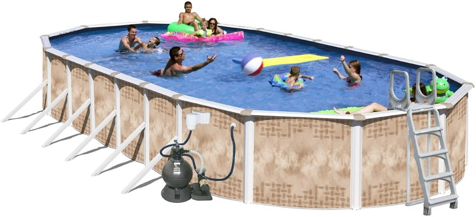 Splash Pools 19 Sand Filter and Pool Pump with 1HP Motor