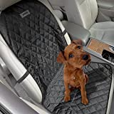 Aomaso Pet Car Bucket Seat Cover - Hammock Nonslip for Cars and SUV Fits Bucket Seat with Anchors and Belt Opening -Black