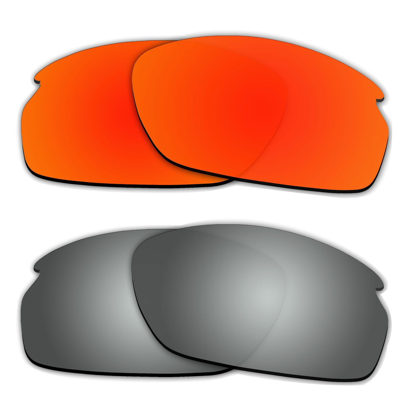 5ccfb04851 Amazon.com   ACOMPATIBLE 2 Pair Replacement Polarized Lenses for Oakley  Carbon Shift Sunglasses OO9302 Pack P2   Sports   Outdoors