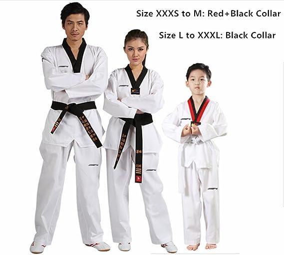 Amazon.com: b.e.s.t jingpai Taekwondo/Karate trajes TKD ...