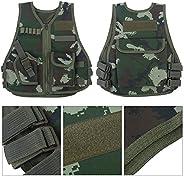 Children Kids Camouflage Tactical Vest with Multi Pocket Kids/Children Waistcoat