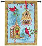 Best Manual Woodworker Bird Houses - Manual Woodworkers & Weavers Winter Holiday Wall Hanging Review