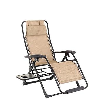 Junjiagao Sillones reclinables portátiles Zero Gravity ...