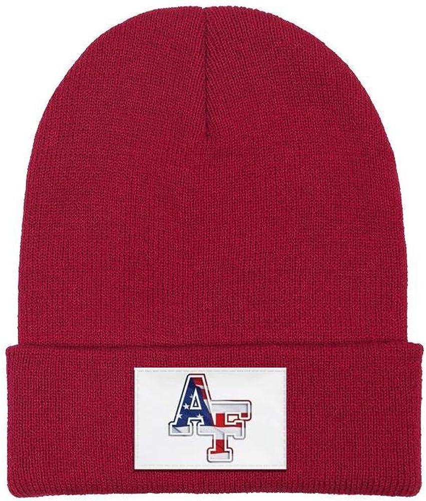 TYUING Fine Knit Cuffed Beanie Caps Athletic Warm Funky Ski Skull Hat for Men Women