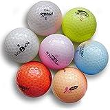 Pink Crystal Mix Golf Balls (50 Pack)