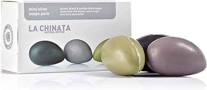 LA CHINATA - Cosmética de Aceite de Oliva - REGALOS - Pack de Jabones de Oliva Mini - 3 x 25 g: Amazon.es: Belleza