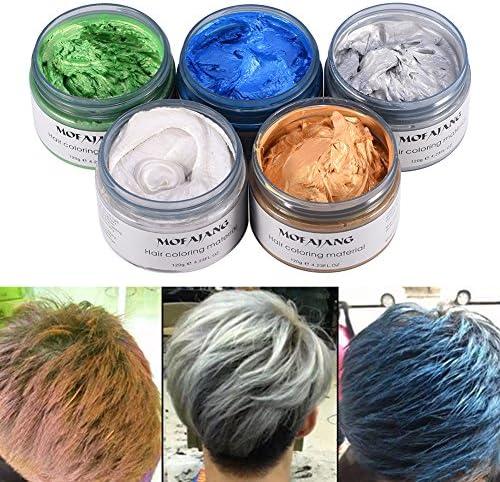 Tinte de pelo de cera, 5 unidades 120 ml desechable pelo ...
