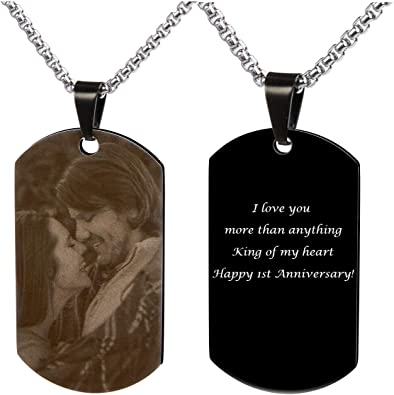 Luxury Dog Tag Necklace Unique Gifts Store Best Father Since 1961