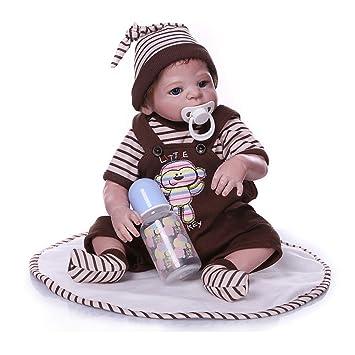 Doll Real Buscando Y Realista Reborn Bebé Muñeca 18Inch 46Cm ...