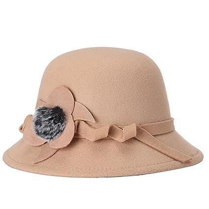 TININNA Sombrero Lana para Mujer 6d313e0fd0e