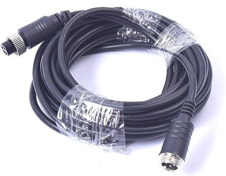 Cocar 16ft 5m Auto Video Verlängerungskabel 4 Pin Elektronik